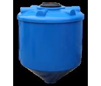 Конусная пластиковая емкость 1000 литров
