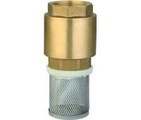 """Обратный клапан """"Vodotok"""" 3/4"""" модель YT-В2007 (седло пластик, внутр/внутр., сетка.) (упак.10шт и 100шт)"""