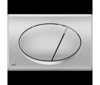Кнопка смыва AlcaPlast M72 хром - матовая