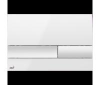 Кнопка смыва AlcaPlast M1730 белая