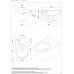 Унитаз безободковый Sanindusa Sanlife 136032004