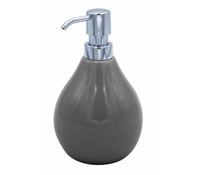 Дозатор для жидкого мыла Belly серый