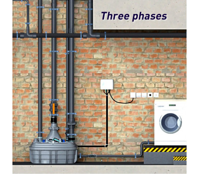 Канализационная насосная станция SFA SANICUBIC 2 XL Three phases