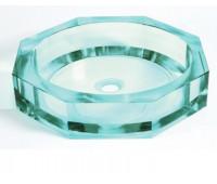 BWY32 Раковина из стекла в виде кристала