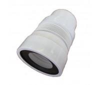K828R Удлинитель гибкий для унитаза, выпуск 110мм (20шт)
