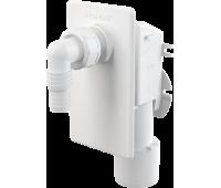 APS4 Сифон для стиральной машины под штукатурку белый