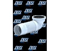 K722R Удлинитель гибкий для унитаза, выпуск 110мм, угол 90 Под заказ (15шт)