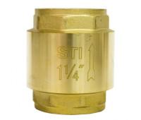Клапан обратный пружинный STI 32 (латунное уплотнение)