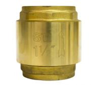 Клапан обратный пружинный STI 40 (латунное уплотнение)