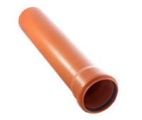 Труба наружная 110х1,0м Политэк (3,4мм)