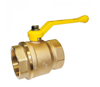 Кран шаровой газовый Галлоп Стандарт 220 ГГ рычаг 50
