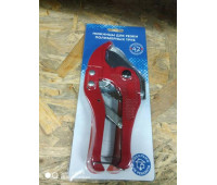 Ножницы д/пластиковых труб до 42мм (красные)