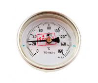 Термометр биметаллический 150°C L=100